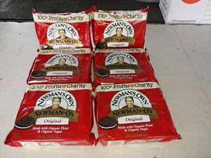 Newman's Own-Organic Vanilla Creme Cookies O's, PK of 6 (13 oz bags) BBD 2/12/22