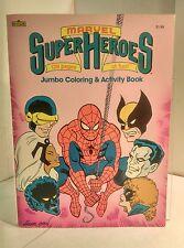 Marvel Super Heroes Jumbo Coloring & Activity Book