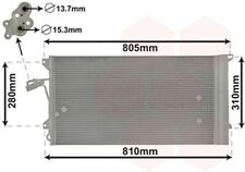 Kondensator, Klimaanlage VAN WEZEL 58005244