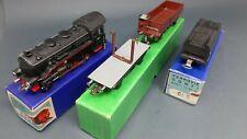 locomotiva conti CO.MO.GE 735 + tender + 2 vagoni merci CONTI