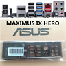 FOR ASUS MAXIMUS IX HERO 1pcs IO I/O SHIELD MAXIMUS IX CODE Shield Back Plate