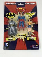 Justice League 3 Action Figure Superman Batman wonder woman DC comics Poseable