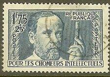 "FRANCE TIMBRE STAMP N° 385 "" LOUIS PASTEUR 1F75+75c "" OBLITERE TB"
