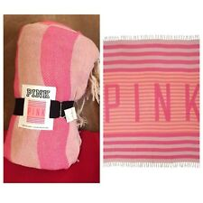"Victoria's Secret ""Pink"" Huge Super Cute Stadium Blanket/ Throw"