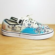 Vans x Disney Sneakers Skate Shoes 7.5 Men 9 Womens Mickey Minnie Hawaii Aloha