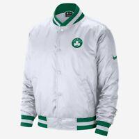 Nike NBA Boston Celtics City Edition Courtside Jacket Men's White Green Outwear