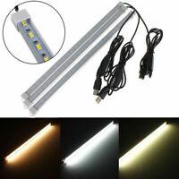 USB 30/40CM 24 SMD 5630 LED Rigid Strip Hard Bar Light On/Off Tube Lamps DC 5V