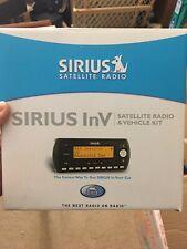 New Sirius InV Car Satellite Radio & Vehicle Kit Sv2-Tk1 Unused Opened Box
