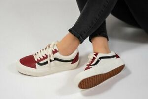 Vans Old Skool OG Vault LX  Leather Skate Shoes 11.5 Chili Pepper