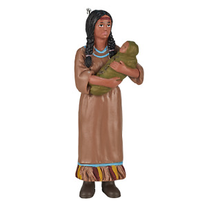 .Mojo NATIVE AMERICAN INDIAN MOTHER & BABY figure toys play plastic figurine NEW