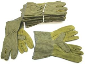 DDR EAST GERMAN ARMY GLOVES / TRIGGER MITTS in STRICHTARN CAMO SIZE 3 = LARGE