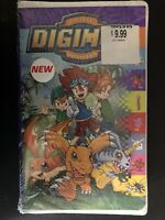 SEALED Collectible Digimon Digital Monsters Video Cassette VHS Tape