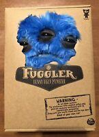 """Spin Master FUGGLER Funny Ugly Monster Blue Annoyed Alien Medium Brand New 9"""""""