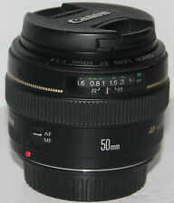 Canon EF 50mm f/1.4 USM lens (Japan) in excellent condition + box