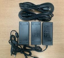 LOT OF 3 24V 2.5A AC to DC Adapter Power Supply