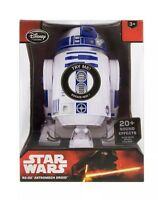 DISNEY STORE STAR WARS R2-D2 TALKING FIGURE ASTROMECH DROID FORCE AWAKENS GIFT