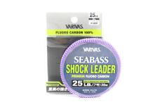 Varivas Fluorocarbon Shock Leader Ligne Sea Bass 30m 25lb (0809)