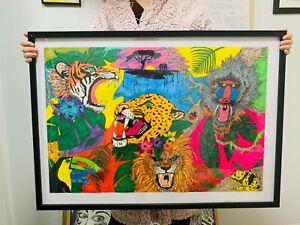 'AFRICAN SMOOTHIE'- Original Artwork By Jimmy K.