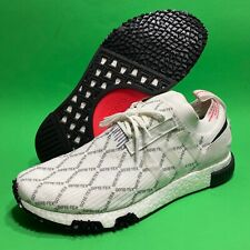 Adidas NMD Racer PrimeKnit Gore-Tex White Red Black BD7725 Men Size 12