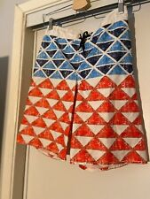 Old Navy Kids Board Shorts Red White & Blue Large 10/12 *FREE SHIPPING*