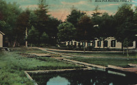 VINTAGE POSTCARD VIEW OF THE STATE FISH HATCHERY AT CORRY PENNSYLVANIA 1910's