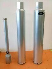 "1"" - 2"" - 3"" Combo 3pcs Wet Diamond Core Drill Bit Set"