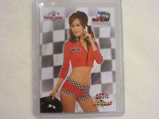 2012 Bench Warmer Long Beach Grand Prix Authentic Red Foil April Scott 2/9