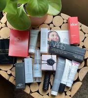 HUGE Lot High End Beauty Samples Travel Full Size Skin Hair Cosmetics Perfume❤️