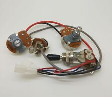 P-90 Guitar Pickup Harness Prewired Kit Volume&Tone Pots - No Soldering Required
