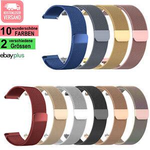 ⭐ MILANAISE Edelstahl Armband SAMSUNG Gear S2/S3  Active 1-2  Galaxy Watch 42-46