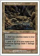 SULFUROUS SPRINGS Seventh Edition MTG Land RARE