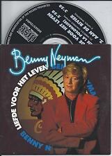 BENNY NEYMAN - Liefde voor het leven CD SINGLE 2TR CARDSLEEVE 1992 HOLLAND