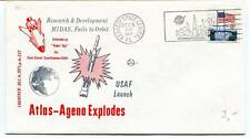 1971 Atlas Agena Explodes Research Development MIDAS Fails to Orbit USAF Launch