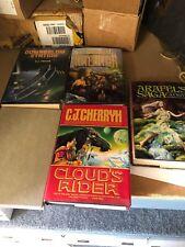 5 books by C. J. Cherryh All First Except Arafels