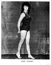 ANN CASEY NWA  WRESTLING ORIGINAL METAL PRINTING PLATE 1970'S