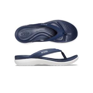 Womens Crocs Capri V Sporty Flip W Navy Sandal Flip Flop