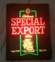 Vintage Heilemans SPECIAL EXPORT Lighted Beer Sign.  Tested!