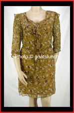 Regular 100% Silk Wrap Dresses for Women