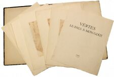Marcel VERTES - Le pays a mon gout - with 12 erotic etched plates !