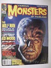 FAMOUS MONSTERS OF FILMLAND THE WOLF MAN ENGLISH MAGAZINE # 205 1994