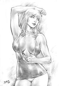 """Mary Jane (11""""x17"""") by Ed Benes - Ed Benes Studio"""