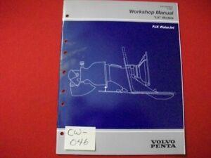 """1997 FACTORY ISSUED GM VOLVO PENTA """"LK"""" MODELS WORKSHOP MANUAL PJX WATERJET"""