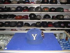 """BYU-NEW BLUE CAP-""""Y"""" IN WHITE ON FRONT-""""COUGARS"""" ON SIDE-SNAP ADJUSTABLE"""