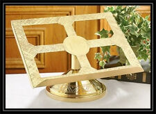 IHS ***  BRASS  Missal / Bible Stand RETAIL $399   Sale $189.99 + FREE shipping