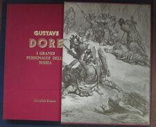 Incisione Dore GRANDI PERSONAGGI BIBBIA 1977