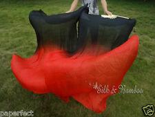 Various designs, 1PIECE right hand 1.8m*0.9m belly dance silk fan veil+bag!