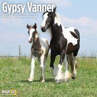2021 Gypsy Vanner Wall Calendar