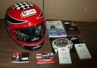 Tissot MotoGP Swiss Mens Watch 2007 Helmet Display Case LE w/ 18 Track Coin Set