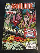 Warlock#5 Awesome Condotion 8.0(1992) Spider-man, Avengers, Captain Marvel!!