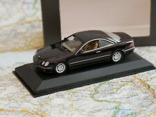 MINICHAMPS MERCEDES - BENZ CL 500? VIOLETT DEALER-VERSION NEW DIE-CAST 1:43 NEW
